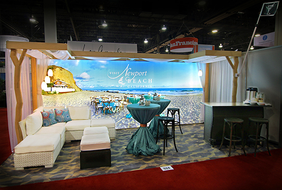 Trade Show Booth Lounge : Conference sales new tradeshow booth generates colossal impact